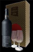 Portal Krabička 10 Year Old Aged Tawny Port + 2 skleničky