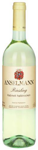 Anselmann Riesling 2017 Kabinet 0,75