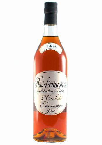 J. GOUDOULIN Armagnac 1966 40,0% 0,7