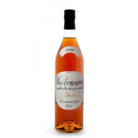 J. GOUDOULIN Armagnac 1986 40,0% 0,7