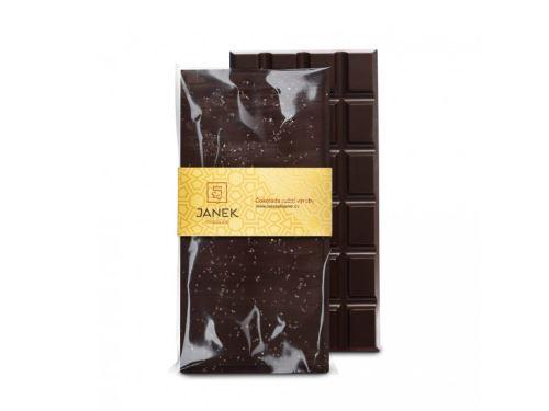 JANEK Čokoláda hořká se solí