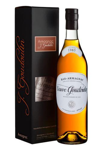 J. GOUDOULIN Armagnac 1985 40,0% 0,7