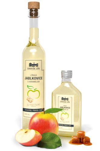 Lžín Jablkovice s karamelem 50% 0,5 l
