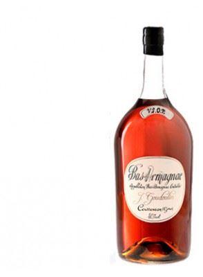 J. GOUDOULIN Armagnac V.S.O.P. POT GASCON  40,0% 2,5l