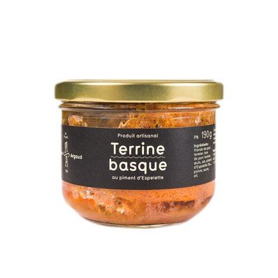 Maison Argaud Terrine basque 190 g