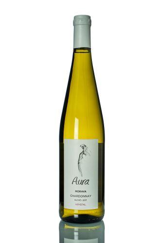 Aura Vini Chardonnay 2015 pozdní sběr 0,75l šarže:25/15