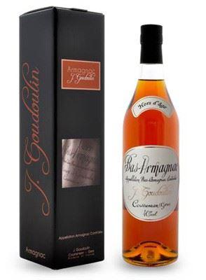 J. GOUDOULIN Armagnac Hors D´Age 40,0% 0,7