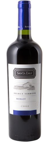Santa Ema Merlot 2018 Selected Terroir 0,75