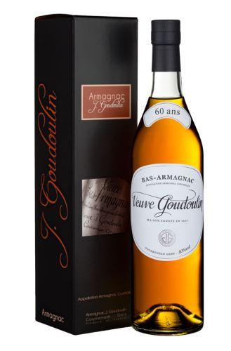 J. GOUDOULIN Armagnac 60 Years Old 40,0% 0,7