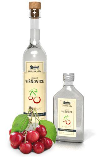 Lžín Višňovice 50% 0,5 l