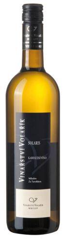Volařík Solaris 2019 pozdní sběr (Mikulov, Za Turoldem)  0,75l