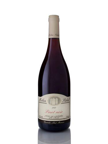 Sůkal Milan Pinot Noir 2015 výběr z hroznů 0,75