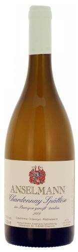 Anselmann Chardonnay Barrique 2014 Pozdní sběr  0,75