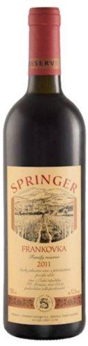 Springer Pavel Frankovka 2015 pozdní sběr 12,5% 0,75