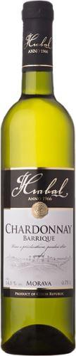Hrabal Chardonnay - Barrique 2015 pozdní sběr 0,75
