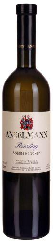 Anselmann Riesling 2015 Spätlese Trocken 0,75