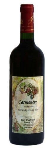 Valihrach Carmenére Barrique 2011 13,0% 0,75