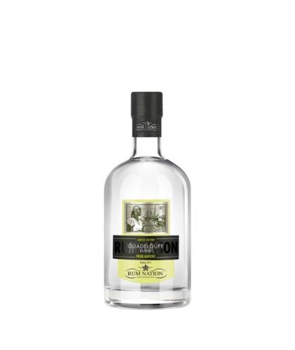 Rum Nation Guadeloupe Blanc Rum  0,7