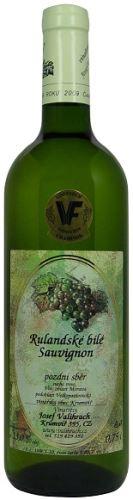Valihrach Cuvée Rulanda bílá + Sauvignon 2011 Pozdní sběr 0,75