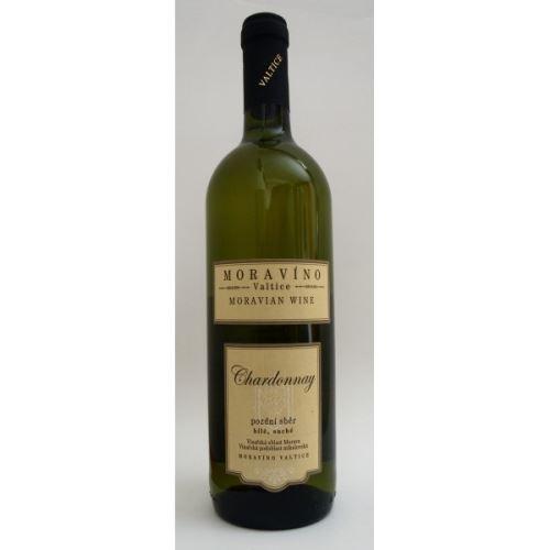 Moravíno Valtice Chardonnay 2017 pozdní sběr 0,75